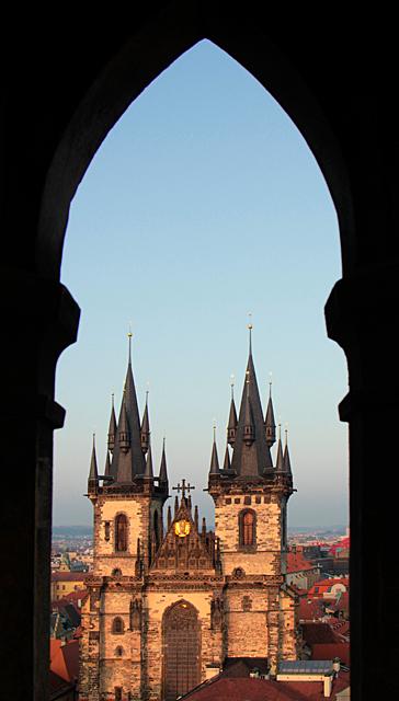 Praga z ratusza