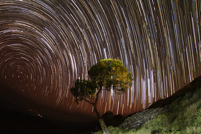 Etiopia, góry Semien, gwiazdy