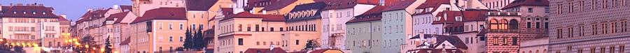 Praga o zmroku
