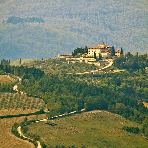 Toskania, wzgórza