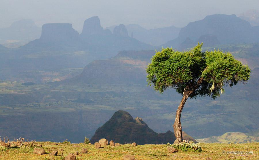 Etiopia, Góry Semien