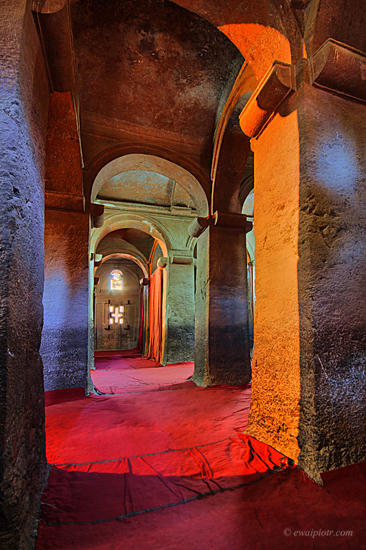 Lalibela, klasztor