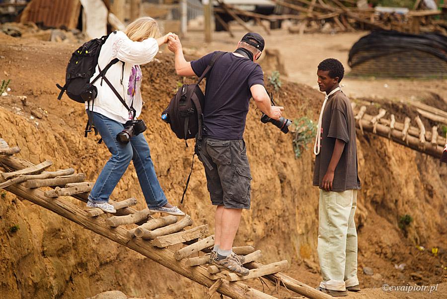Na fotowyprawie w Afryce