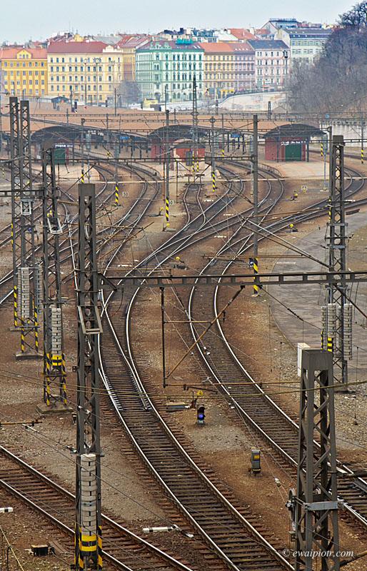 Praga, dworzec kolejowy