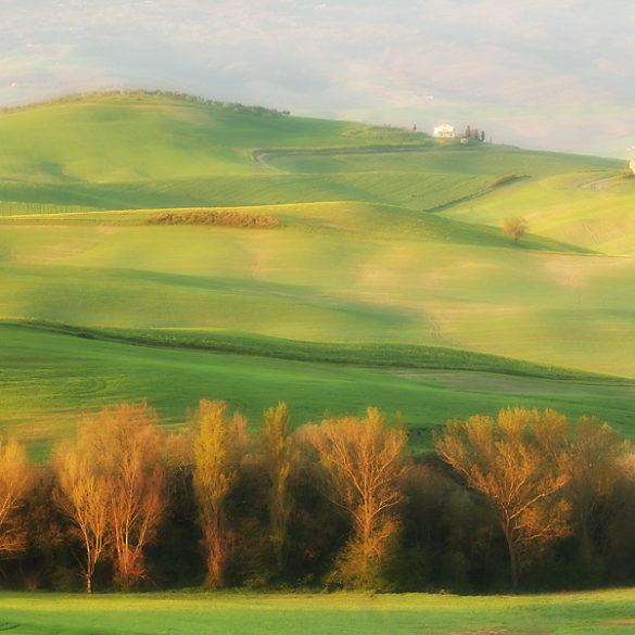 Toskania wiosną