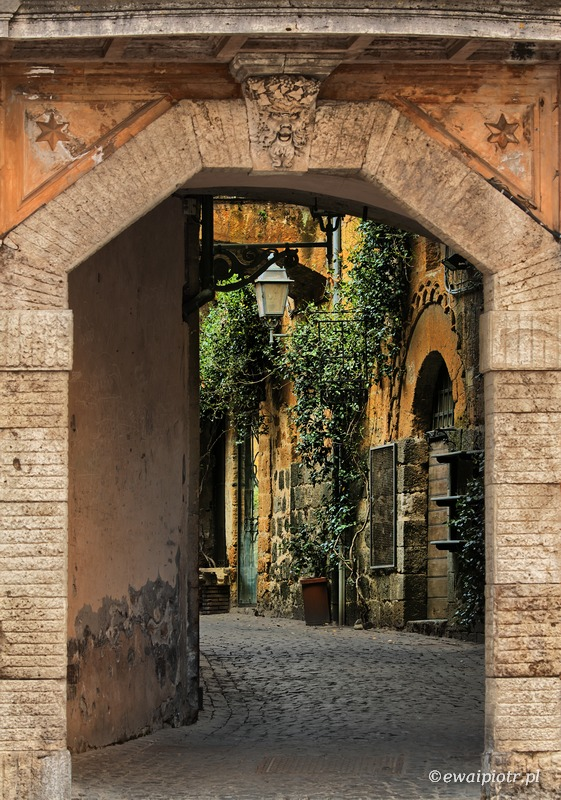 Orvieto, Toskania