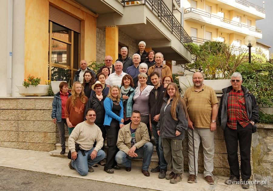 Uczestnicy fotowyprawy do Toskanii - kwiecień 2013