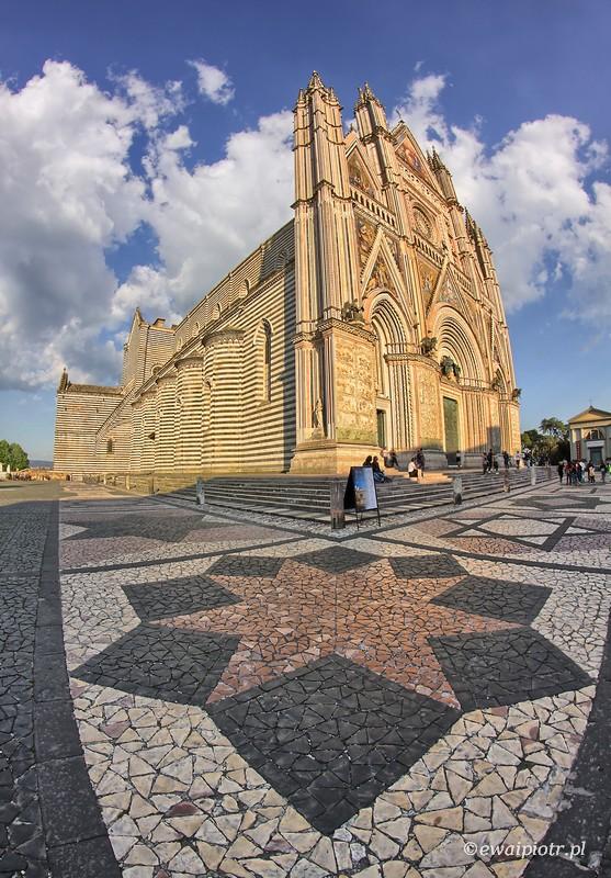 Orvieto, katedra, Toskania