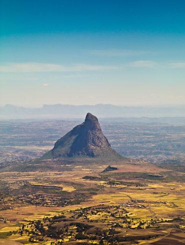 Etiopia z lotu ptaka