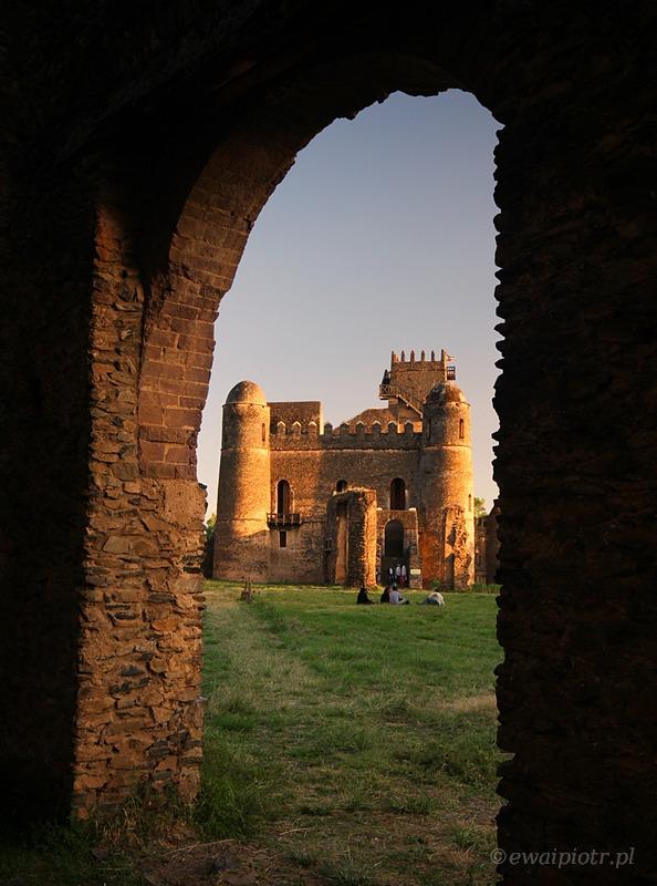 Gonder, zamek, Etiopia, fotowyprawa