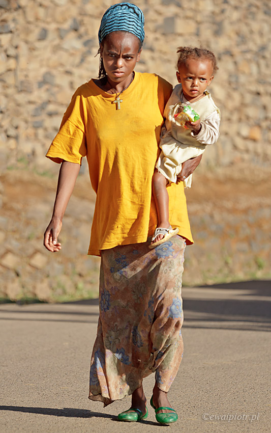 Powrót z targowiska, Etiopia