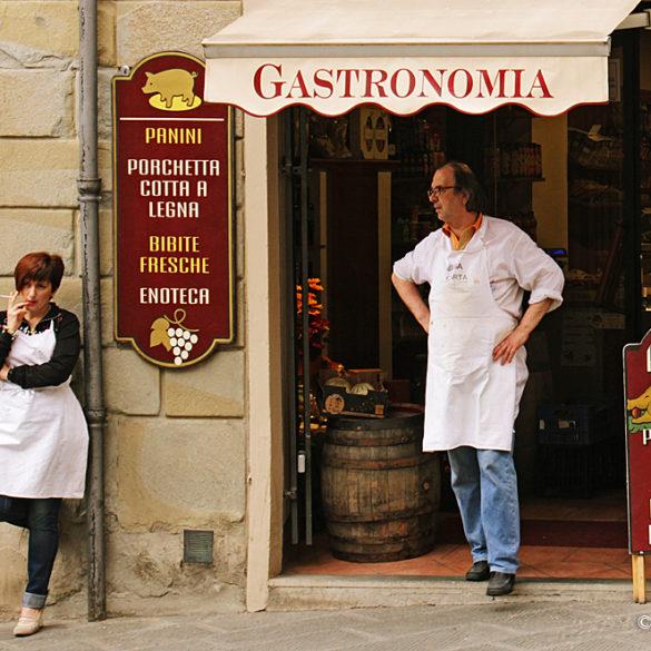Sklepik w Arezzo