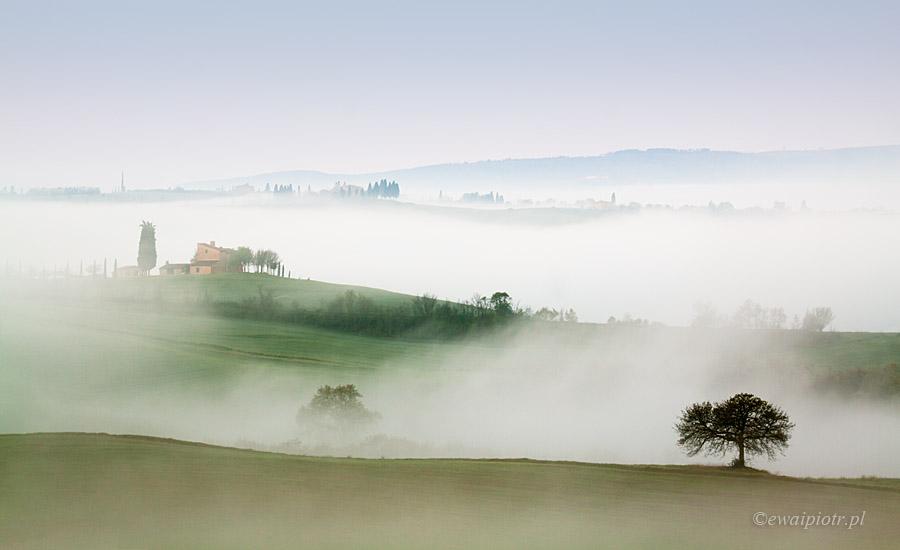 Toskańska mgła