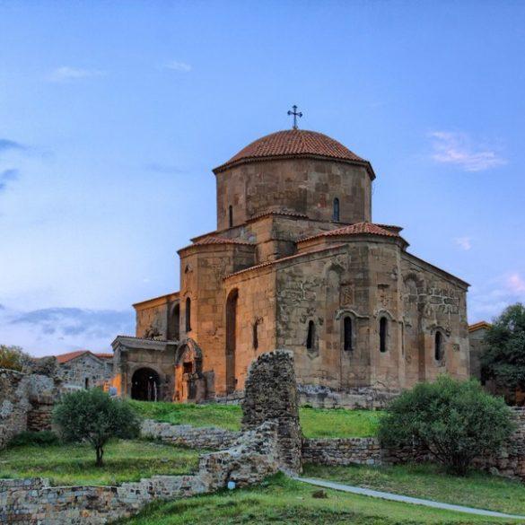 Gruzja, klasztor Jvari