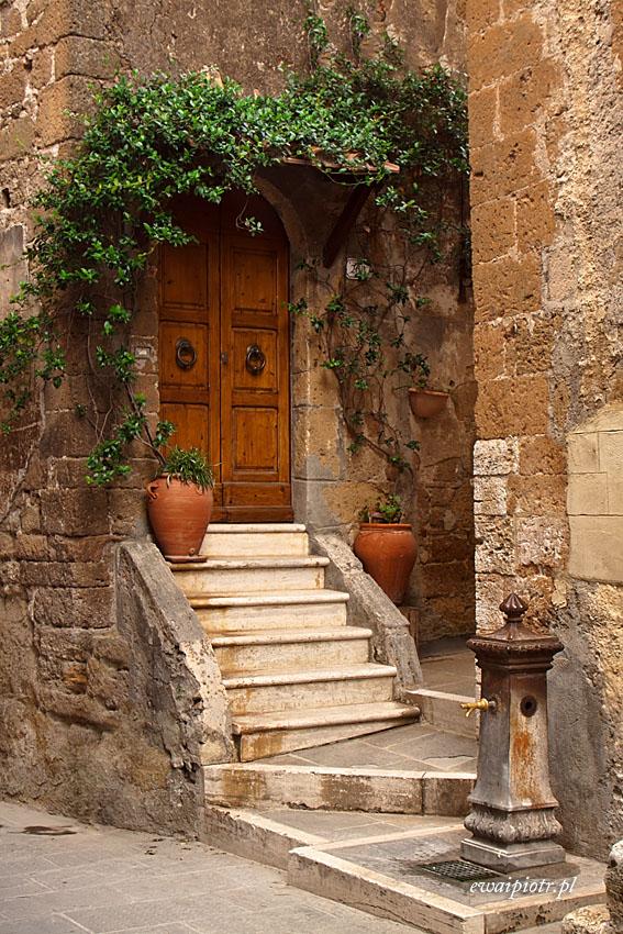 Pitigliano, Toskania