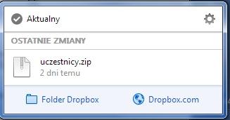 dropbox - instalacja
