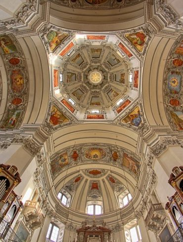 katedra, Salzburg, Austria