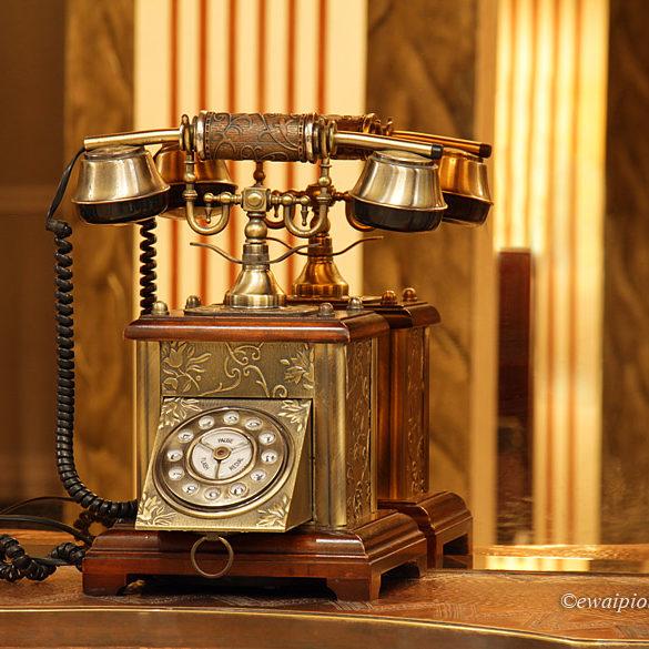 Casablanca, Maroko, stary telefon