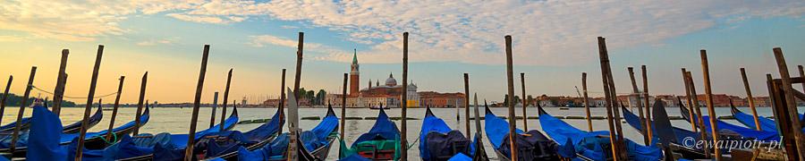 Wenecja i gondole
