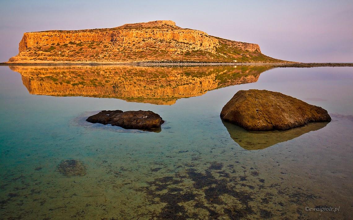 Widok na Gramvousę, Kreta
