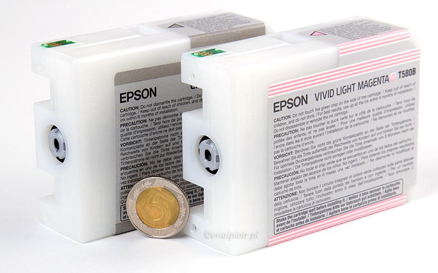 Rozmiar pojemników z tuszem dla Epsona 3880