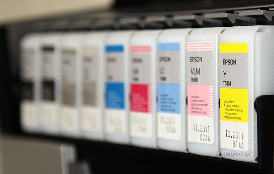 Kartridże z tuszem drukarki Epson Stylus Pro 3880