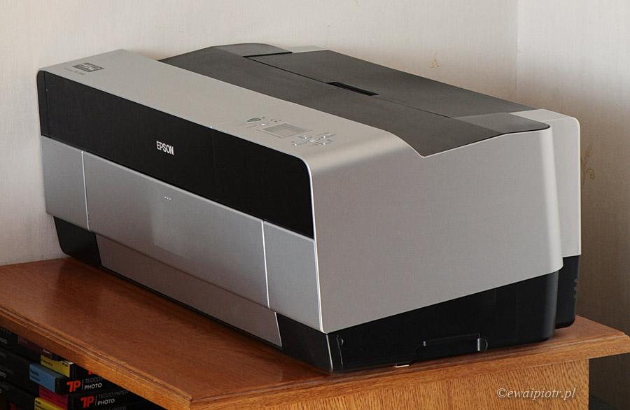 Złożona drukarka Epson Stylus Pro 3880