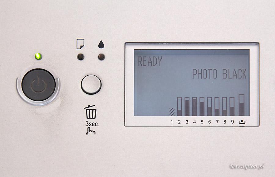 Panel sterujący drukarki Epson Stylus Pro 3880