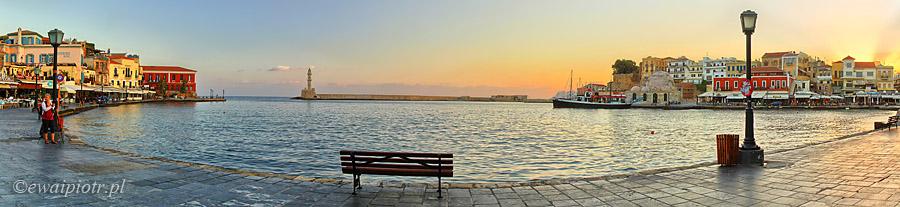 Chania, port, Kreta