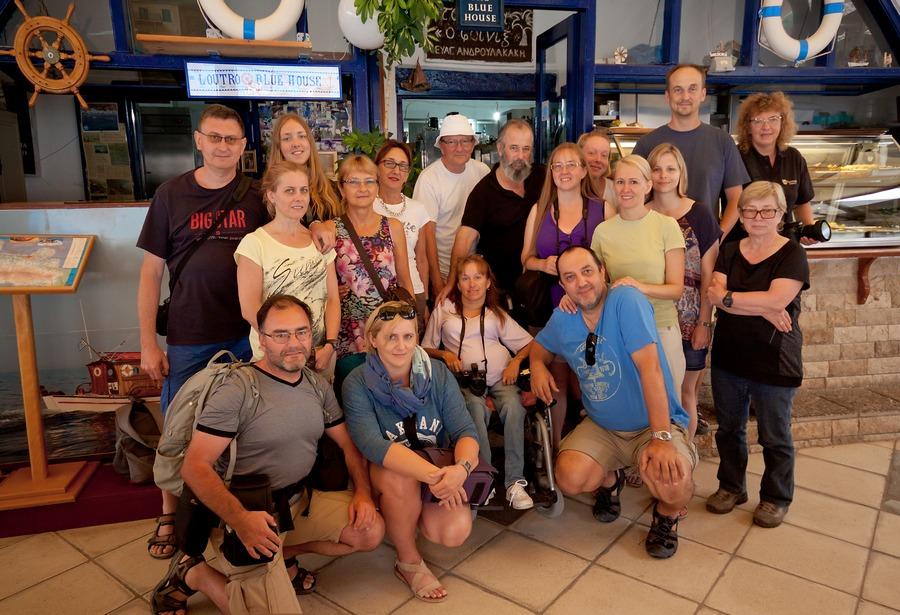 Uczestnicy fotowyprawy na Kretę 2014