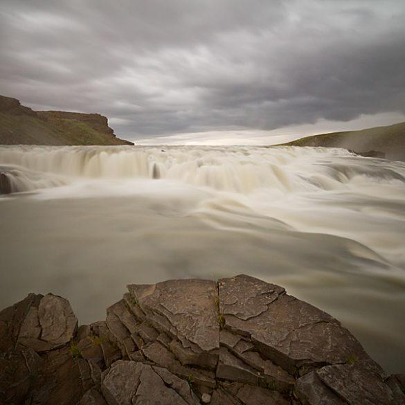 wodospad Gulfoss, Islandia