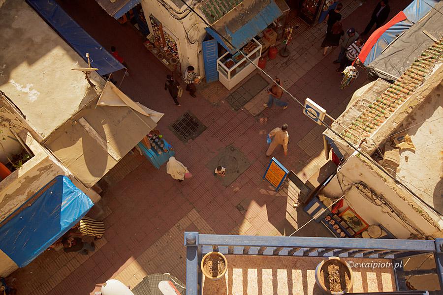 Targowisko w Marrakeszu