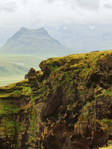 Klify Dyrhólaey, Islandia