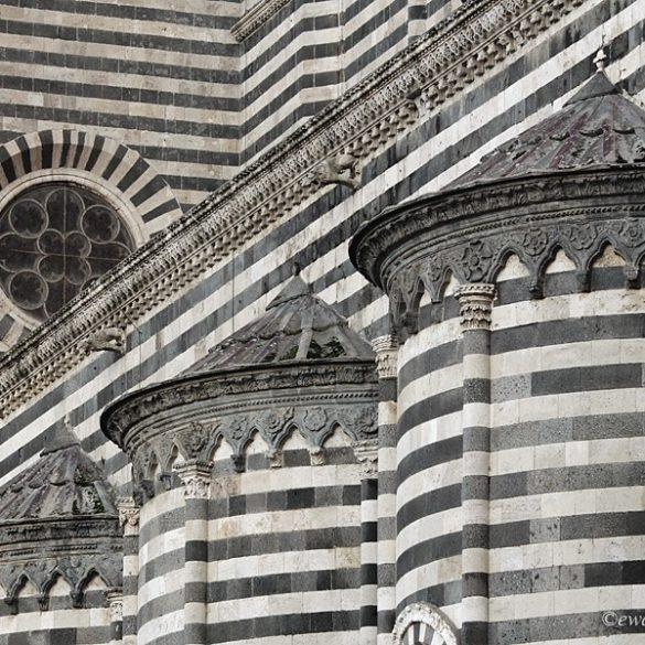 Orvieto, katedra. Toskania
