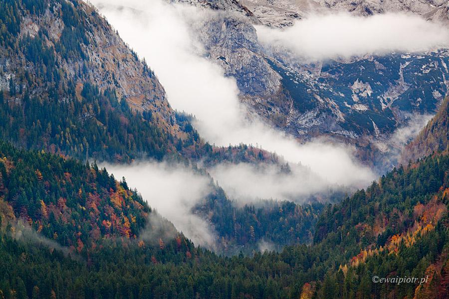 Alpy we mgle, Austria