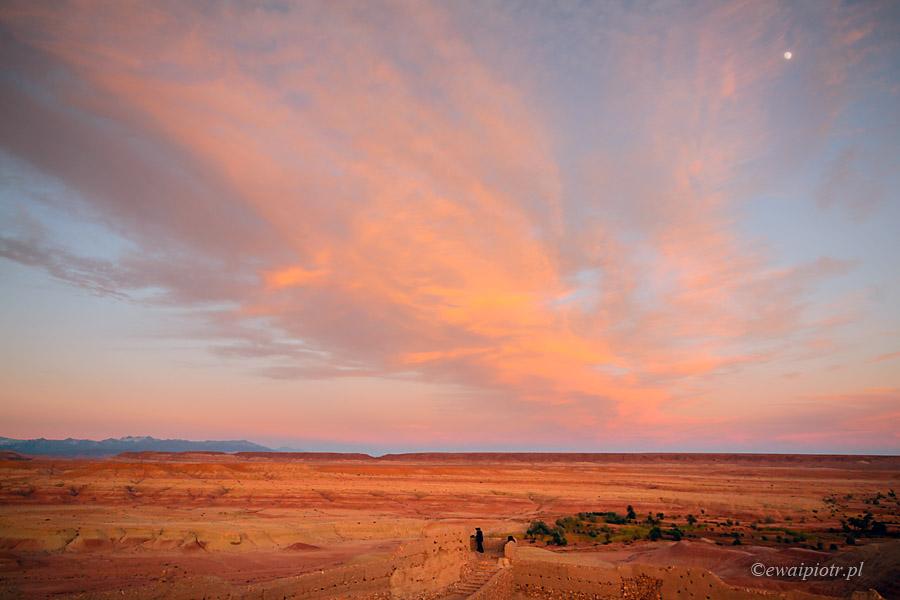Sahara pod Ait Benhaddou