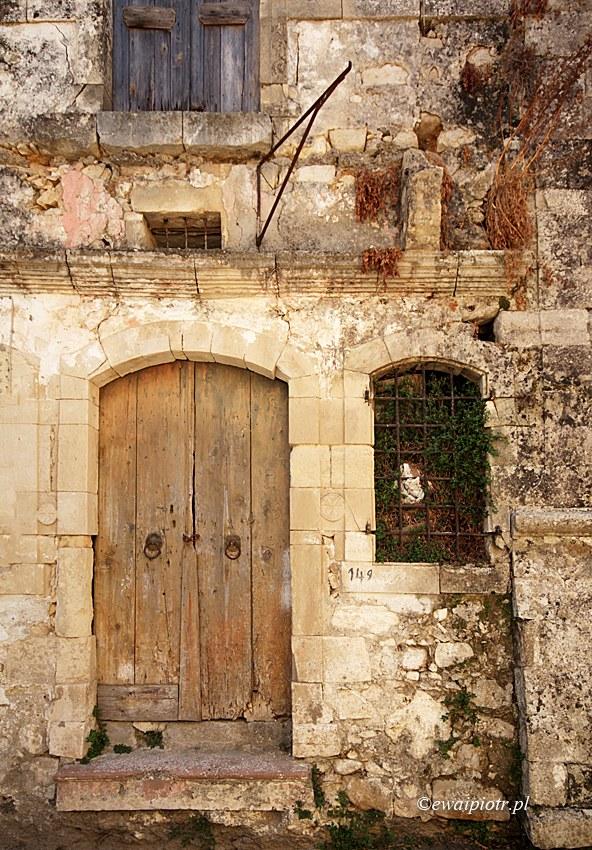 Argiropoulis, opuszczony dom, Kreta