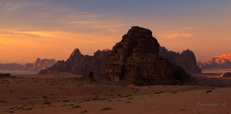 pustynia Wadi Rum, fotowyprawa do Jordanii