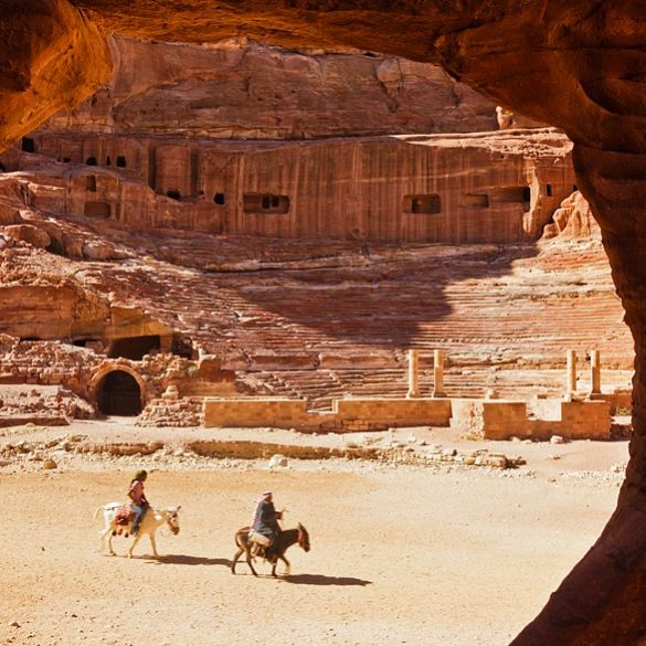 Petra, amfiteatr