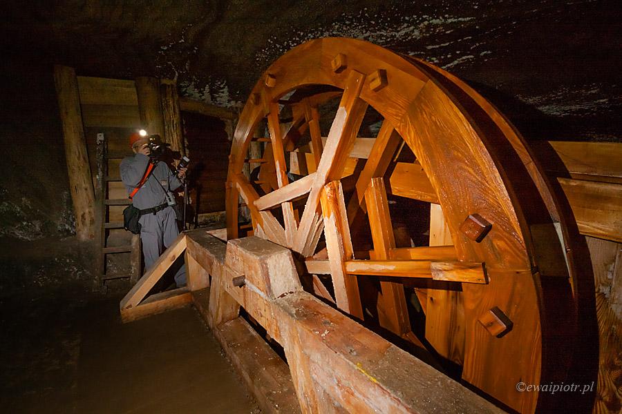 Górnik w Wieliczce