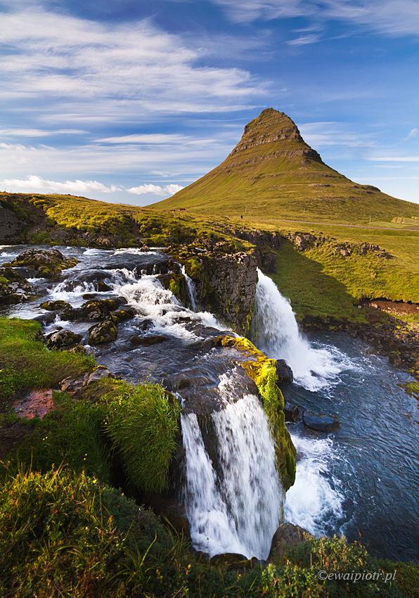 Z cyklu: 36 widoków góry Kirkjufell