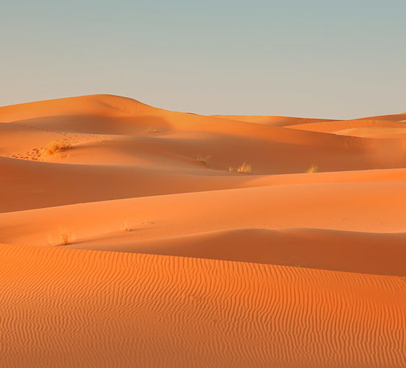 Fale na Erg Chebbi, Maroko