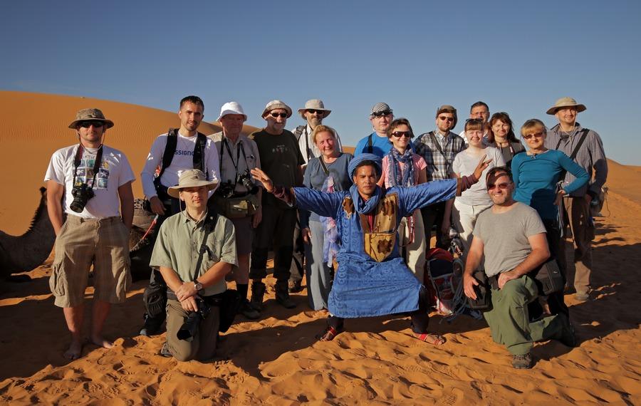 Uczestnicy fotowyprawy do Maroka 2015
