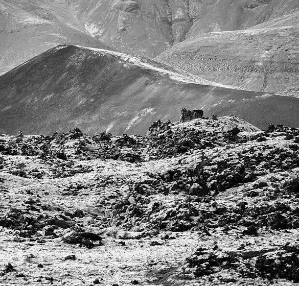Islandia, pola księżycowe
