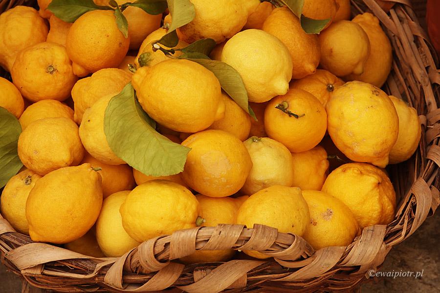 cytryny w koszyku
