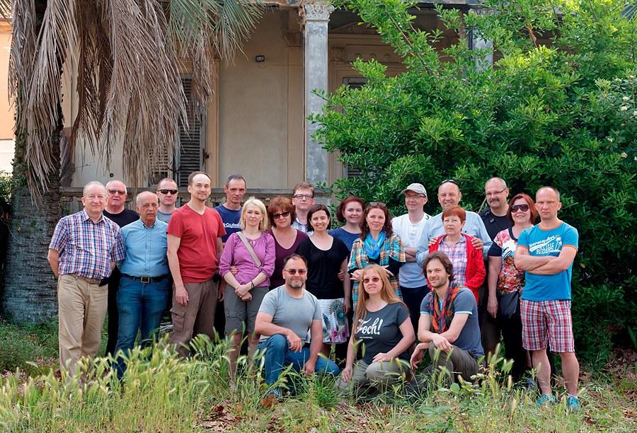 Uczestnicy fotowyprawy do Cinque Terre