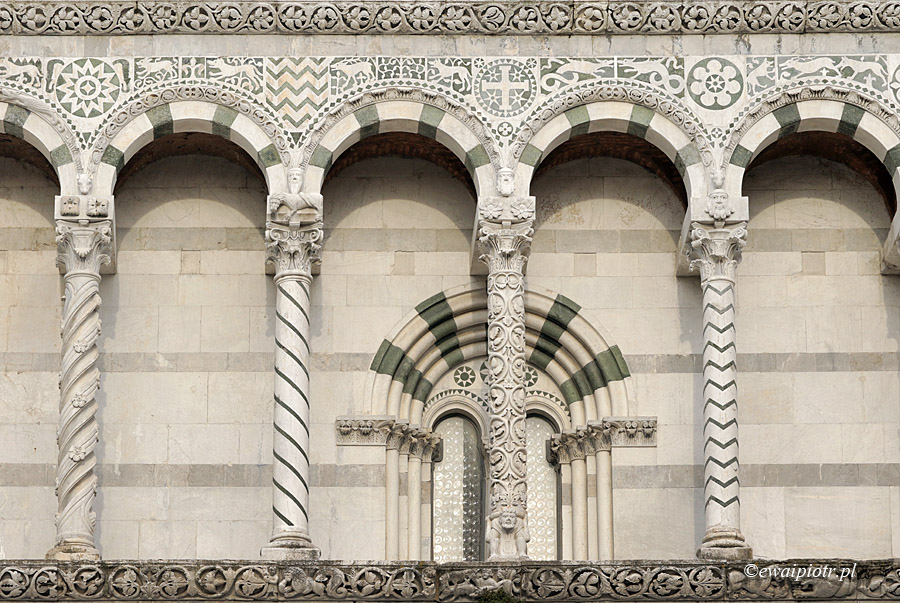 Lukka, katedra, Toskania
