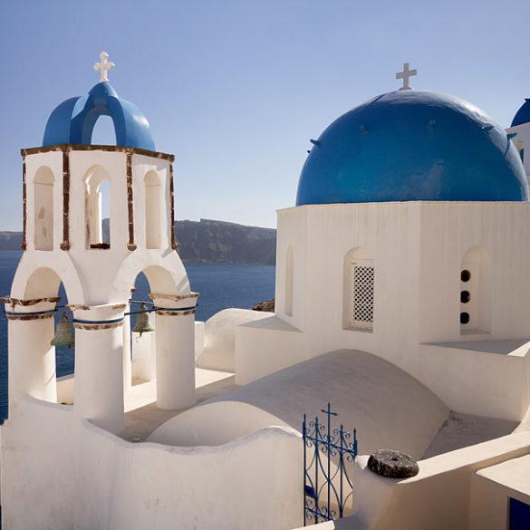 Kopuły Santorini