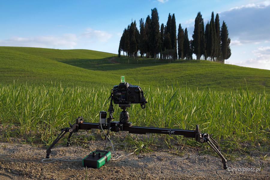 Slidekamera SP-600 Pro w Toskanii