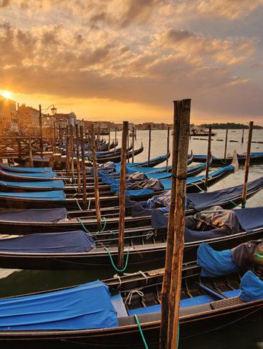 Wenecja o wschodzie słońca